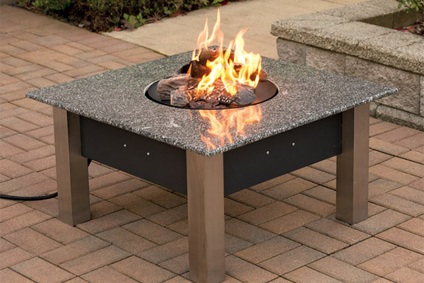 Portable Fire Pits For Patios : Fire pit tables decked out home and patio