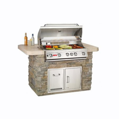 Master Q Outdoor Island Kitchen