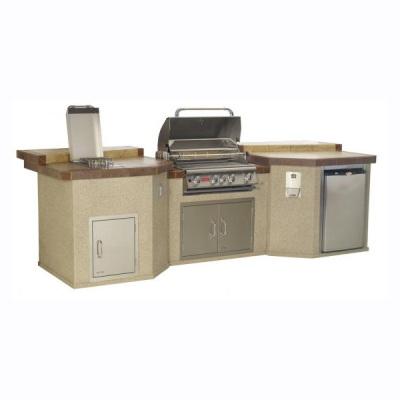 Mega Q Outdoor Island Kitchen