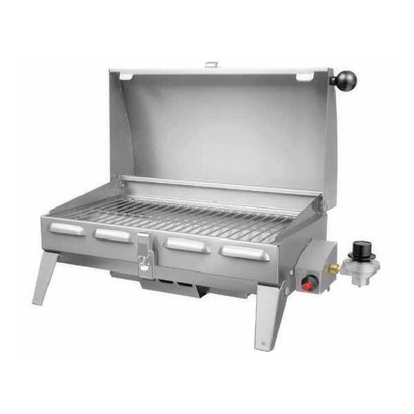 marine portable gas grill decked out home and patio. Black Bedroom Furniture Sets. Home Design Ideas