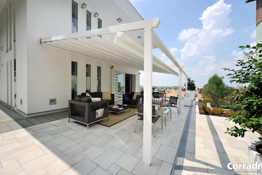 Corradi shade systems decked out home and patio