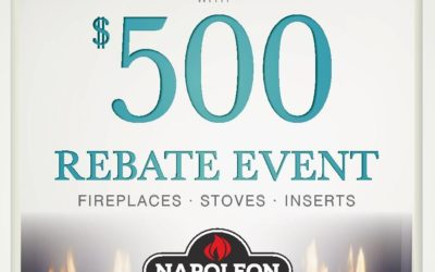 Napoleon Fireplace Rebate Event On Now