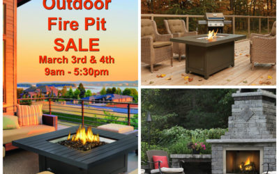 Outdoor Fire Pit SALE