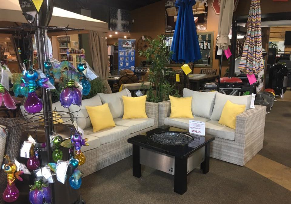 End of Season Patio Furniture Sale