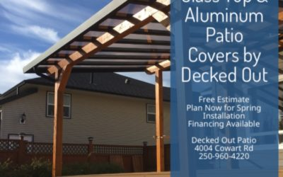 Now Booking Patio Cover Design & Early Season Specials!