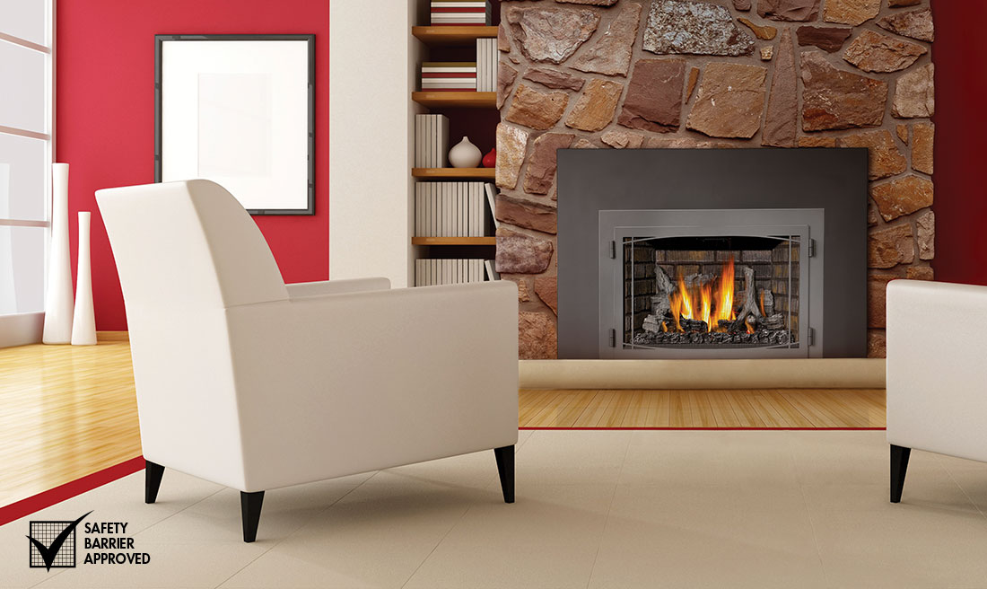 Napoleon Infrared 3 Gas Fireplace Decked Out Home And Patio